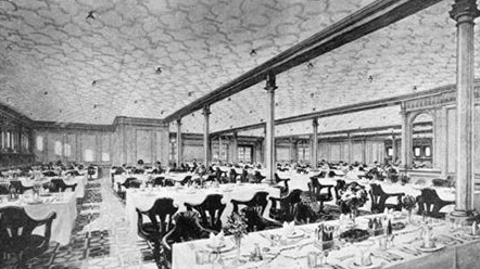 Second Class Meals Were Prepared In The Same Kitchens (galleys) That  Prepared Those For The First Class, And Reports Are That They Ate Nearly As  Well.